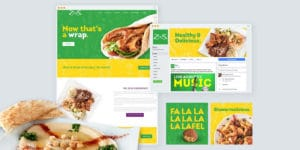 Zeus Mediterranean Greek Food Website Design